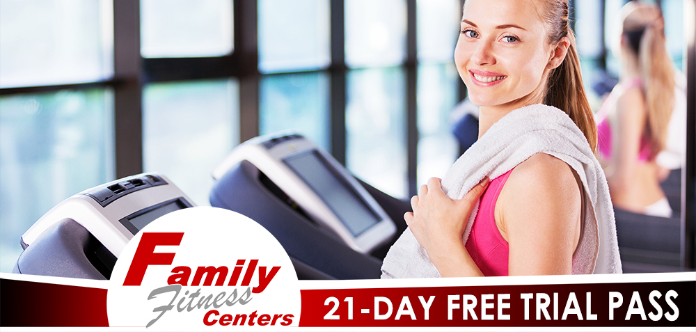 21-Day Free Trial Gym Pass Image